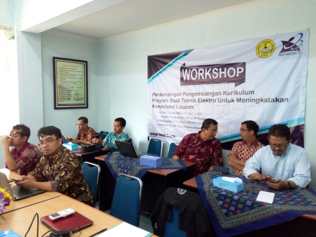 Workshop Kurikulum Teknik Elektro 2018